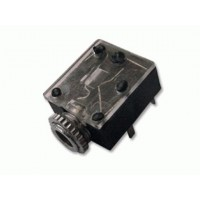 JACK STEREO 3.5mm PANEL CON INTERRUPTOR.
