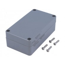 CAJA GRIS IP65 115*65*40mm ABS