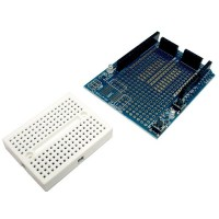 SHIELD PROTOBOARD CON BREADBOARD